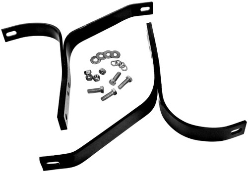 Rear Bumper Bracket set 4pc 1947-1955 1st series Chevy and GMC truck