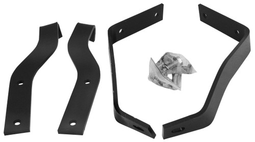 Rear Bumper Bracket Set 4 pc 1955-1959 Chevy and GMC Truck