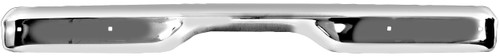 Chrome Rear Fleetside Bumper Chevy and GMC Trucks 1960-1962 (Without license plate hole)