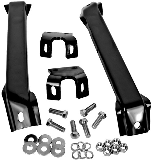 Front Bumper Bracket Set 1955-1957 Chevy and GMC Truck
