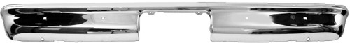 Chrome Rear Bumper 1967- 1972 Chevy and GMC Truck Fleetside