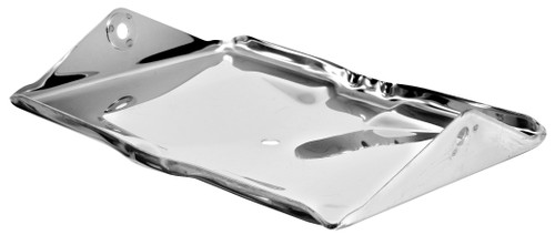 Battery Tray Bottom Stainless 1955-1957 Chevy and GMC Truck