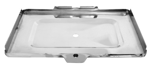 Battery Tray Bottom Stainless 1967-1972 Chevy and GMC Truck