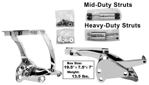 Billet Hood Hinge Pair 1967-1972 Chevy and GMC Truck