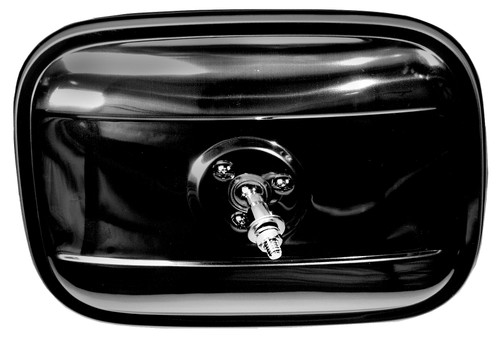 Exterior Mirror Rectangular Black 1947-1972 Chevy and GMC Truck
