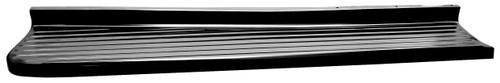 Black Left Running Board 1947-1954 Chevy and GMC Truck