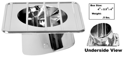 DEFROSTER DUCTS LH 68-72