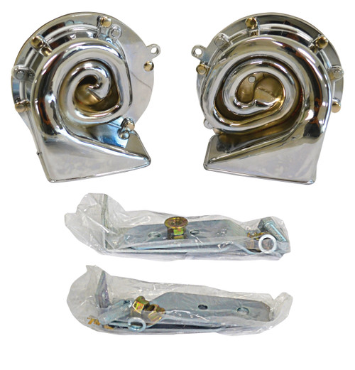 HORN HIGH/LOW NOTE CHROME PLATED