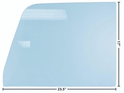 DOOR GLASS 64-66 RH OR LH TINTED