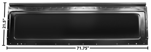 BED FRONT PANEL 73-84