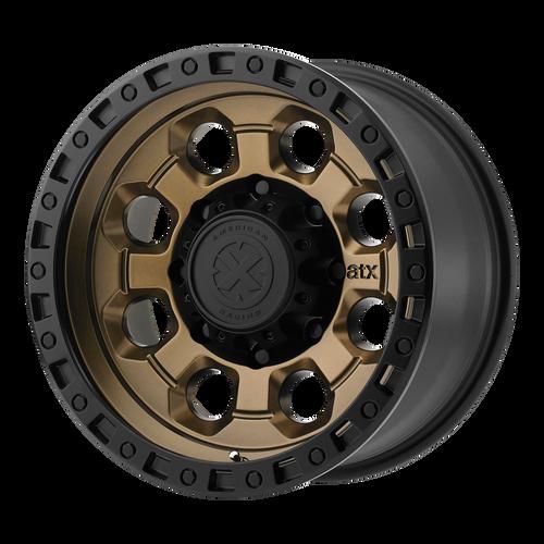 AX201 MATTE BRONZE W/ BLACK LIP