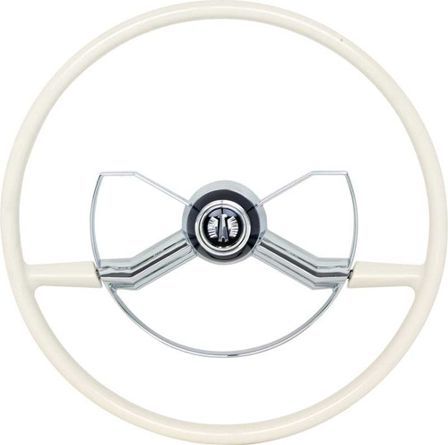 This is a replacement steering wheel for the 1949-52 Chevrolet passenger cars.