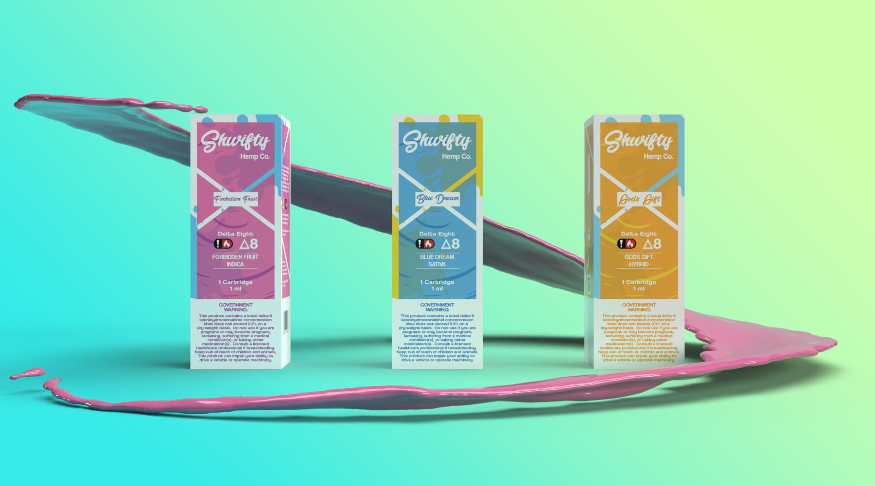 Shwifty Hemp Co. Delta 8 Cartridges