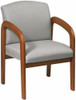 Office Guest Chair with Multi Wood Finish [WD380] -1