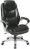 Office Star Executive Chair with Adjustable Headrest [ECH89186] -1