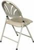 Office Star Fan Back Folding Chair [FC8100NBG] -2