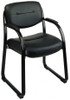 Office Star Faux Leather Visitors Chair [FL1055] -1