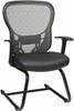 Office Star Mesh Back Sled Base Guest Chair [529-3R2V30] -2