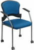 Office Star Padded Fabric Stacking Chairs [82710] -2