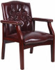 Boss Traditional Side Chair with Arms [B959] -2