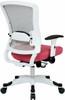Office Star White Mesh Back Office Chair [317W-W1C1F2W] -2