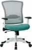Office Star White Mesh Back Office Chair [317W-W1C1F2W] -4