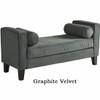 Avenue Six Curves Upholstered Bench [CVS20] -5