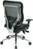Big and Tall Ergonomic Mesh Chair [818A-41P9C] -2