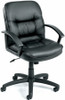Boss Mid Back LeatherPlus Desk Chair [B7306] -1