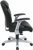 Eco-Leather Office Desk Chair with Flip Arms [ECH8967R5] -3