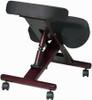 Ergonomic Kneeling Chair with Wood Finish [KCW778] -2