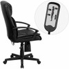High Back Executive Office Chair with Massage [BT-9578P-GG] -2