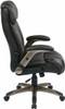Flip Arm Eco-Leather Executive Chair [ECH38615A] -3