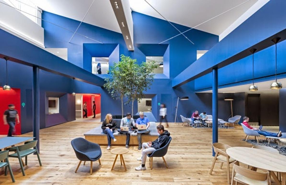 Top 5 open office space designs