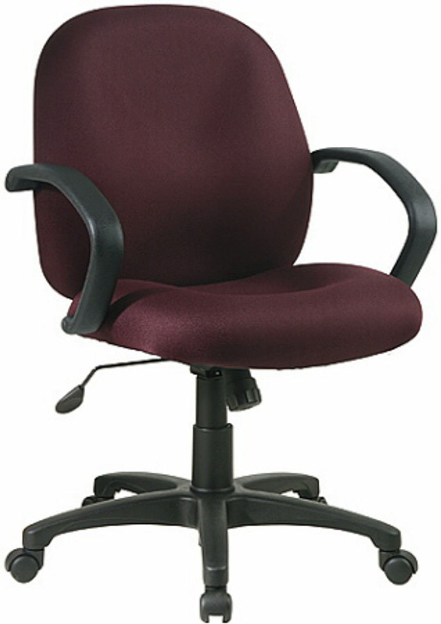 Image of: Mid Back Upholstered Desk Chair Ex2651