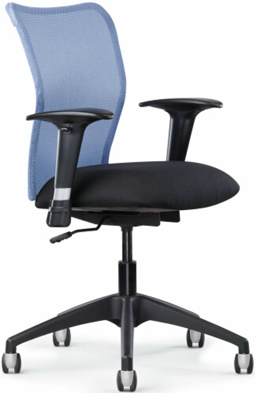 Allseating Model 77040 Inertia Mesh Back Office Chair