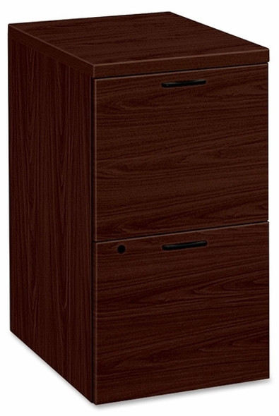 HON 2 Drawer Laminate Wood Filing Cabinet [105104] -2