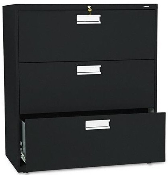 "HON 36"" Lateral 3 Drawer File Cabinet [683L] -1"
