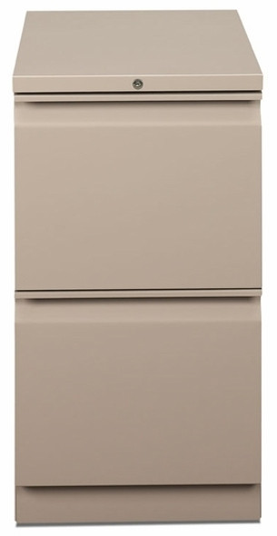 HON Mobile 2 Drawer File Cabinet [18823R] -2