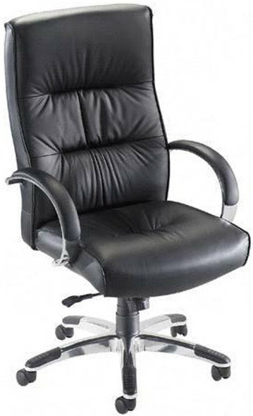 Lorell Bridgemill High Back Leather Chair [60502] -1