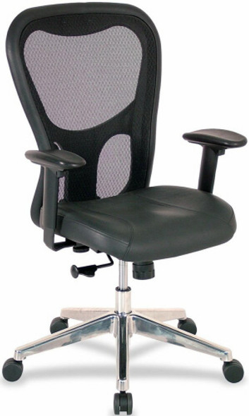 Lorell Mid Back Mesh Office Chair [85036] -1