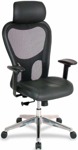 Lorell Mid Back Mesh Office Chair [85036] -2