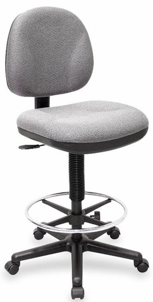 Lorell Millenia Height Adjustable Stool [80010] -2