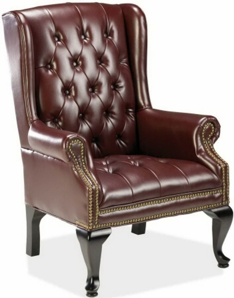 Lorell Berkeley Series Queen Anne Side Chair [60605] -1