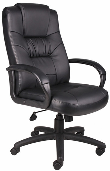 Lumbar Support Leather Office Chair [B7501] -1