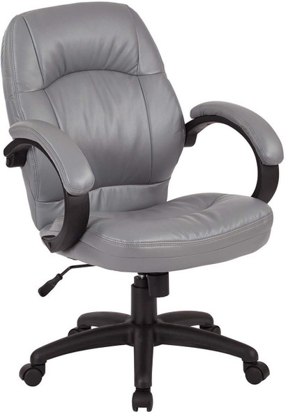 Managers Faux Leather Office Chair [FL605] -2