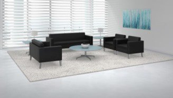 Mayline Prestige Leather Waiting Room Chair [VCL1]