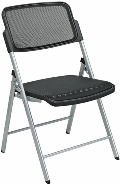 Matrix Full Mesh Folding Chairs [81608] -1