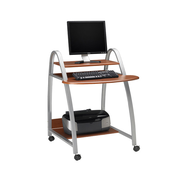 Mayline Arched Mobile Computer Desk [971]