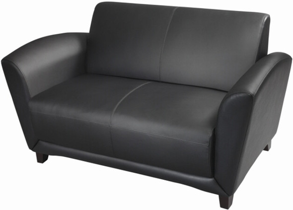 Mayline Aspire Collection Italian Leather Settee [VCC2] -1